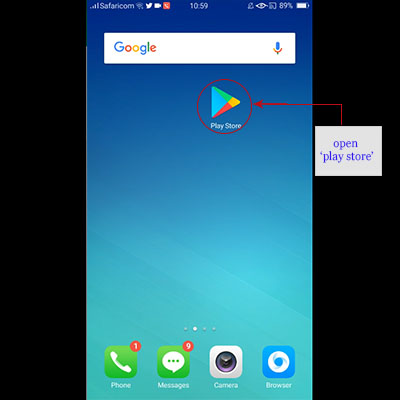 how to download okash app okash loan application open play store