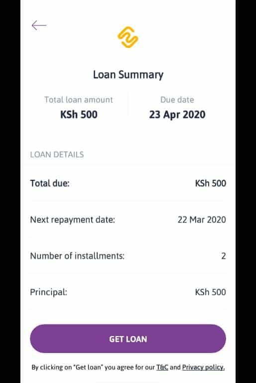 get loan apply for zenka loan